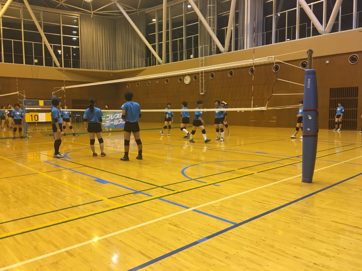 ブレス浜松バレーボールスクール見学