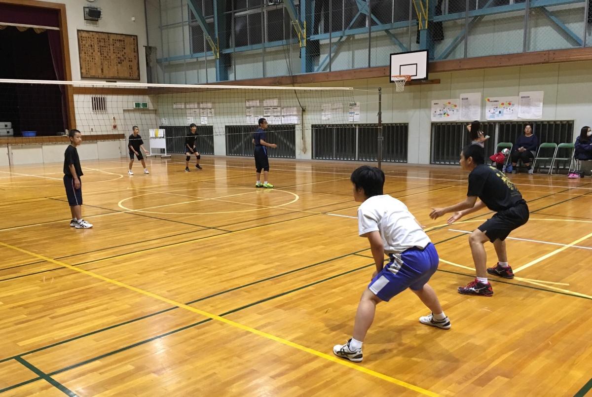 バレーボールクラブ Day17
