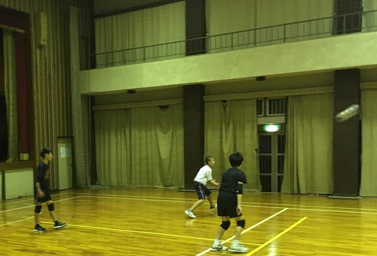 バレーボールクラス Day20